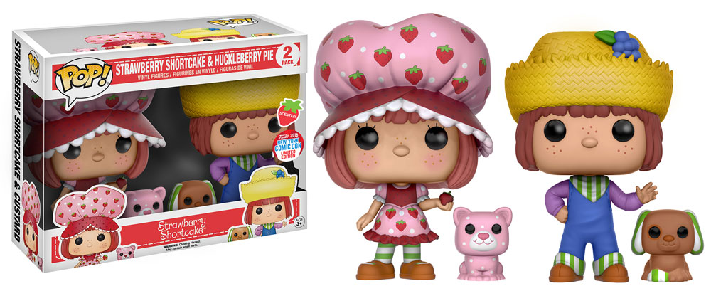 Funko - NYCC Exclusive - Pop! - Animation 2-Pack - Strawberry Shortcake and Huckleberry Pie