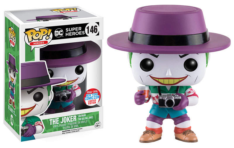 Funko - NYCC - Exclusive - Pop - Killing Joke - Joker