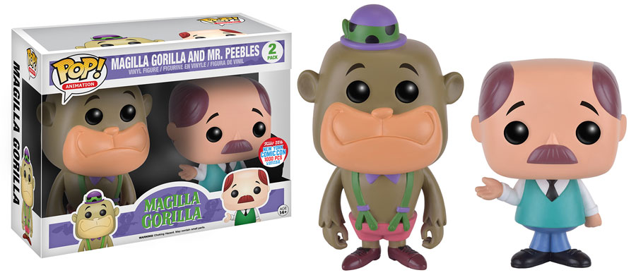 Funko - NYCC Exclusive - Pop! - Hanna-Barbera 2-Pack - Magilla Gorilla
