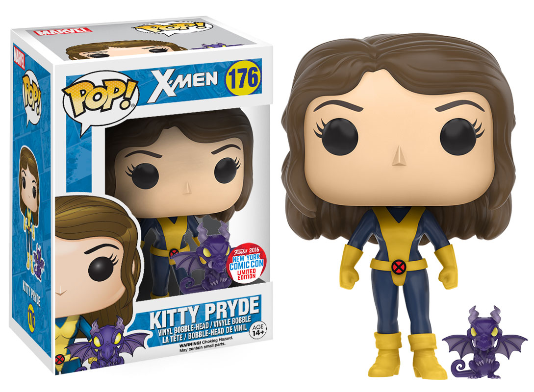Funko - NYCC 2016 - Exclusive - Pop: Marvel - X-Men - Kitty Pryde