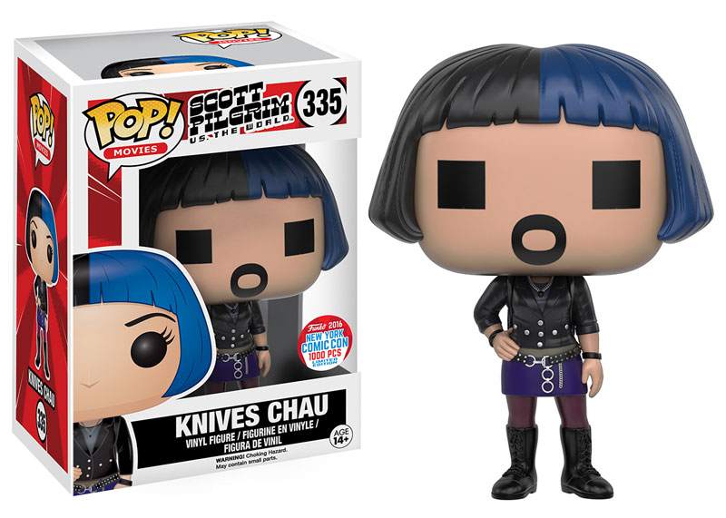 Funko - NYCC Exclusive - Pop! - Scott Pilgrim - Knives Chau (Digital)