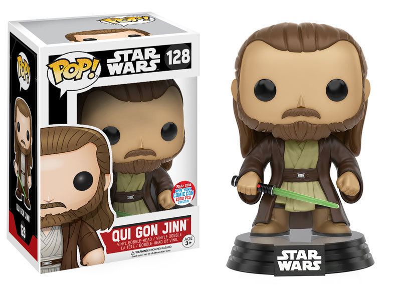 Podcast: Preparing to Invade NYCC 2016 (S02E53) - Funko Pop! - Qui Gon Jinn
