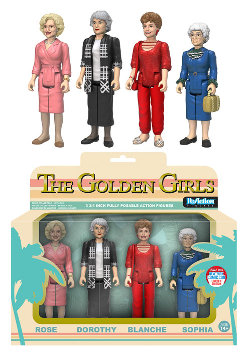 Funko - NYCC Exclusive - ReAction - Golden Girls