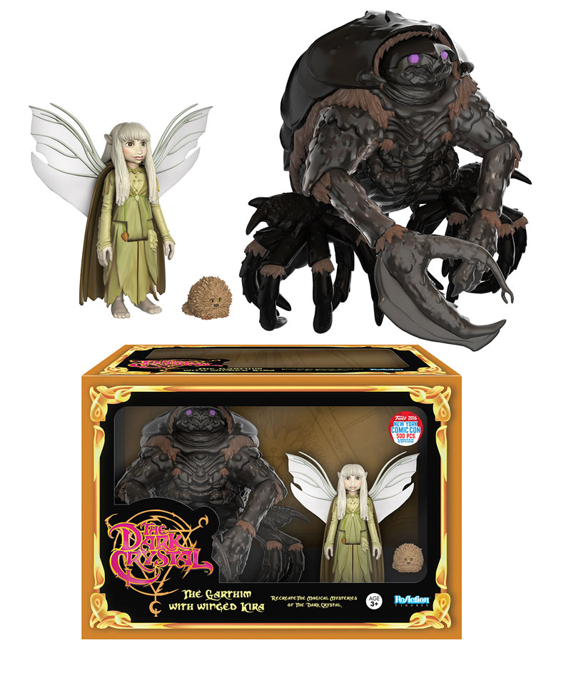 Funko - NYCC Exclusive - ReAction - The Dark Crystal - Garthim Box Set