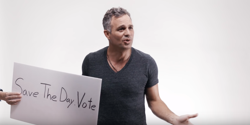 Save the Day.....for Mark Ruffalo