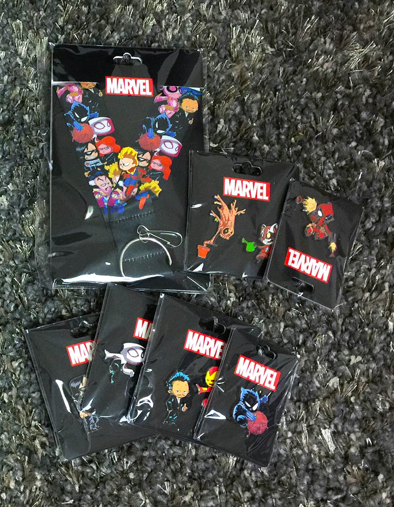 Skottie Young Pins - SDCC 2016 - Packaged