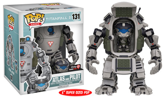 Titanfall 2 - Funko Pop! & Buddy - Atlas and Pilot - GameStop Exclusive