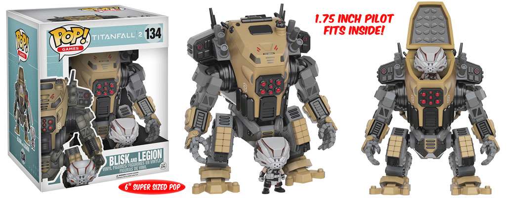 Titanfall 2 - Funko Pop! & Buddy - Blisk and Legion