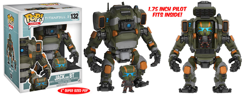 Titanfall 2 - Funko Pop! & Buddy - Jack and BT
