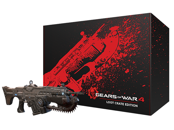 Gears of War 4 - Loot Crate - Box and Lancer
