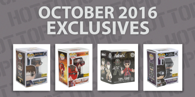Hot Topic Exclusives - October 2016 - Cover