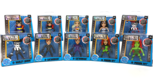 METALS Die Cast – DC Comic Girls 2.5″ Figures