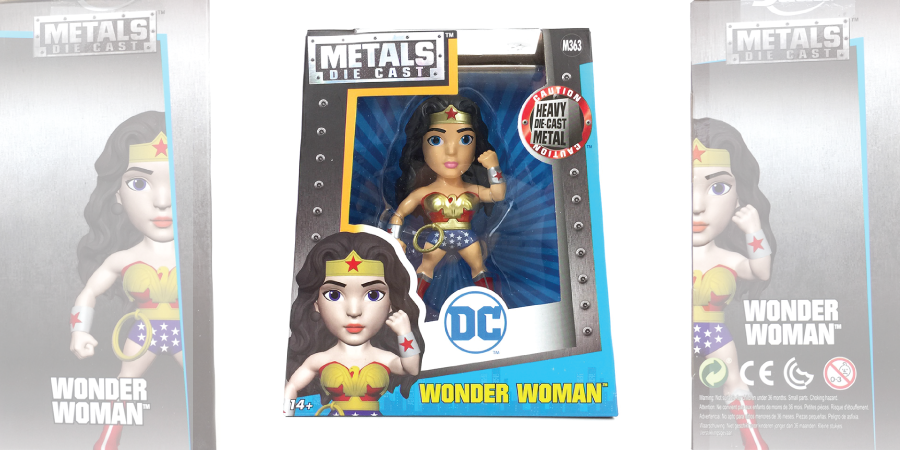 METALS Die Cast - M363 - Wonder Woman