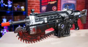 We're Revved Up About This 'Gears Of War 4' Bloody Lancer Replica