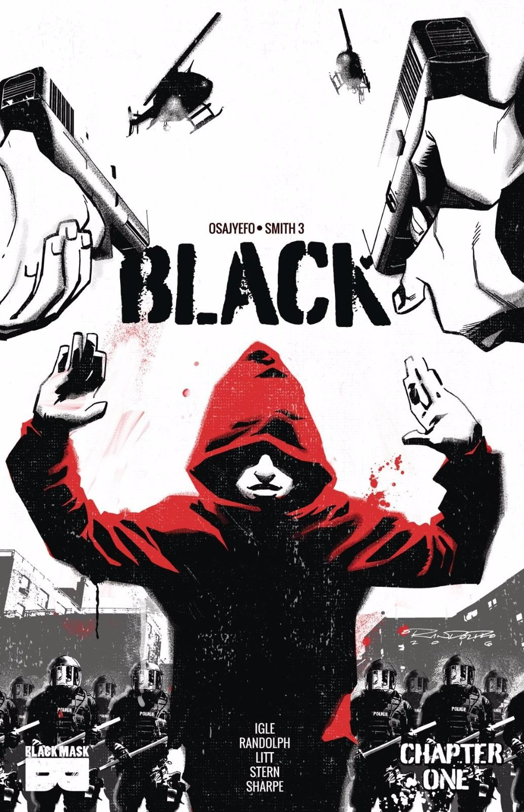 Podcast: Preparing to Invade NYCC 2016 (S02E53) - Comic Book - Black #1