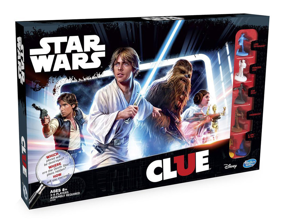 Star Wars CLUE - Box