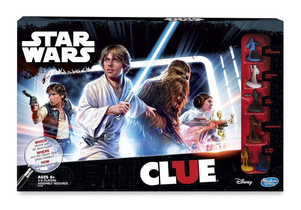 CLUE Star Wars - Box