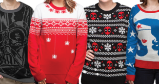 Holiday Sweaters – Get Your Nerd On & Stay Warm
