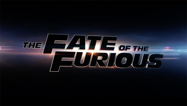 The Fate of the Furious - Title Block