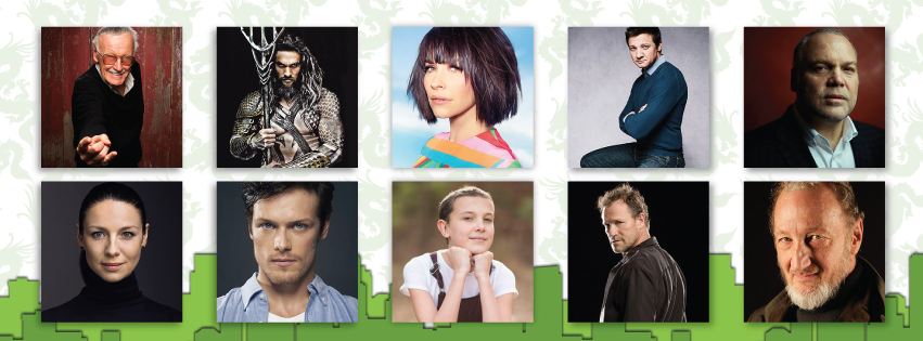 ECCC - 2017 - Celebrity Guests