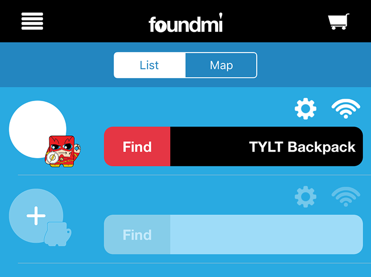 FoundMi - App - Connected