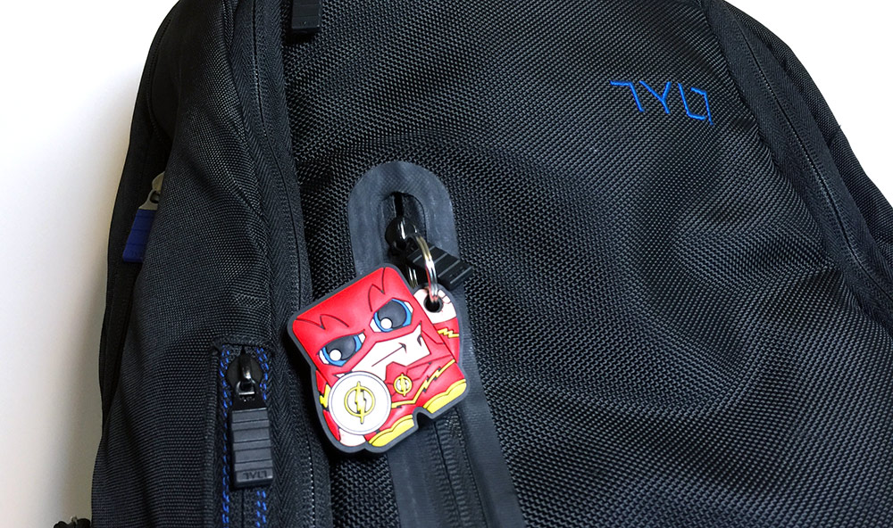 FoundMi - The Flash - On TYLT Backpack