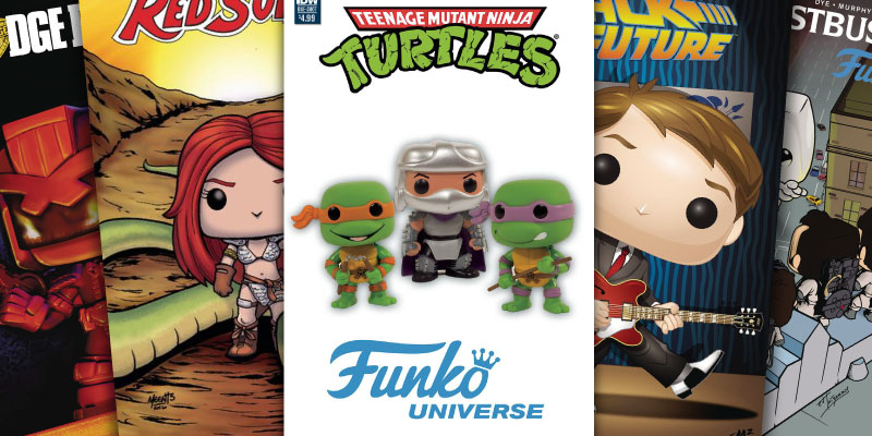 Funko Comic Book Covers