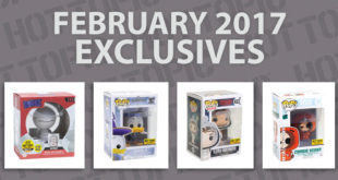 Hot Topic Exclusives Preview – February 2017