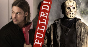 'Friday the 13th' Reboot and 'World War Z' Sequel Pulled