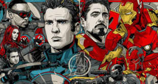 Captain America: Civil War by Tyler Stout [ MONDO ]