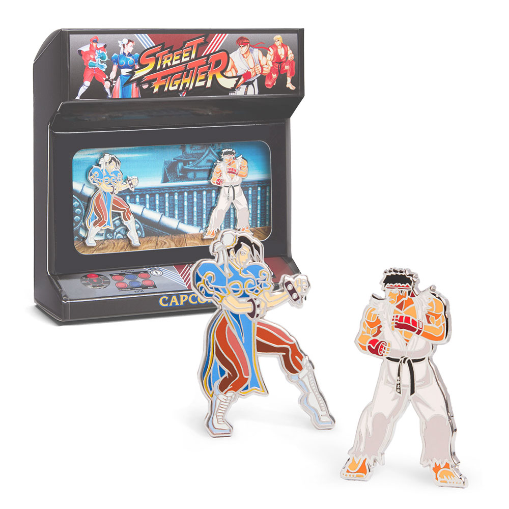 Street Fighter - Enamel Pins