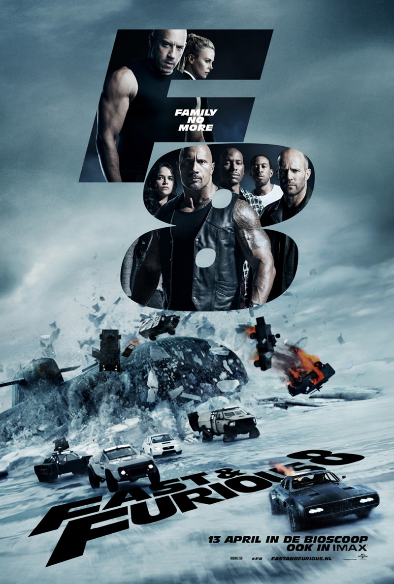 Fate of the Furious Official Poster