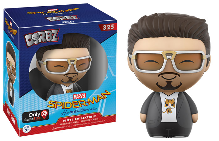 funko-dorbz-spiderman homecoming-tony stark
