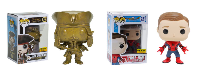 Jack Sparrow - Spider-Man - Funko Pop! - Exclusive
