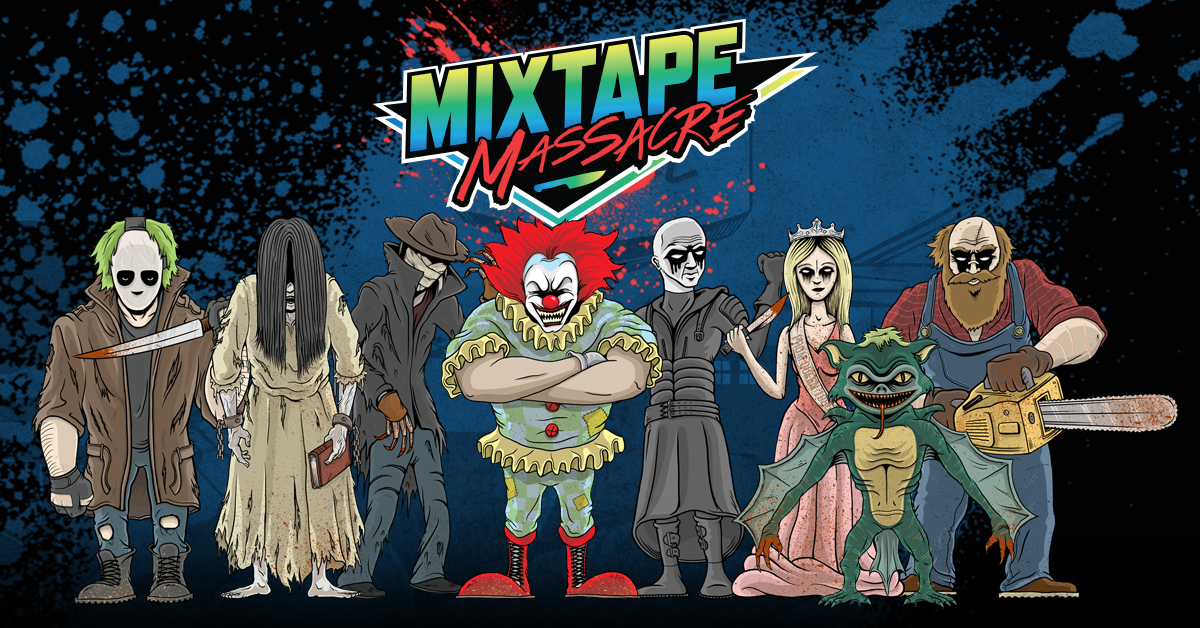 Mixtape Massacre Review - cast photo