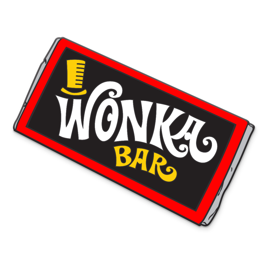 WonderCon 2017 - Willy Wonka - Wonka Bar - Enamel Pin