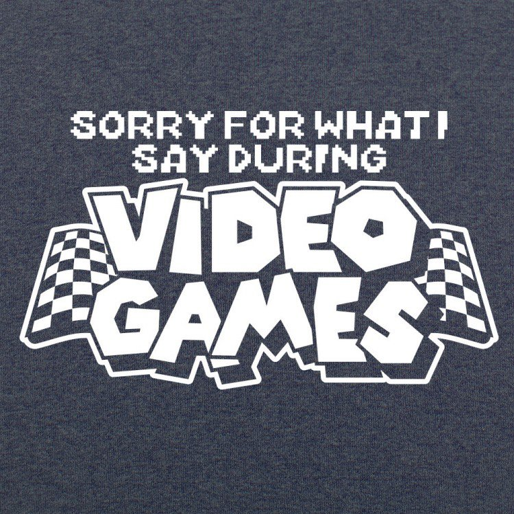 sorryvideogames-t-shirt-heathernavy-swatch-750x750