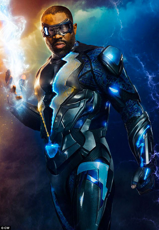 Black Lightning - Character Poster - WB - DC