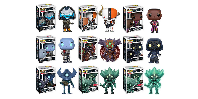 Destiny Pop!s from Funko