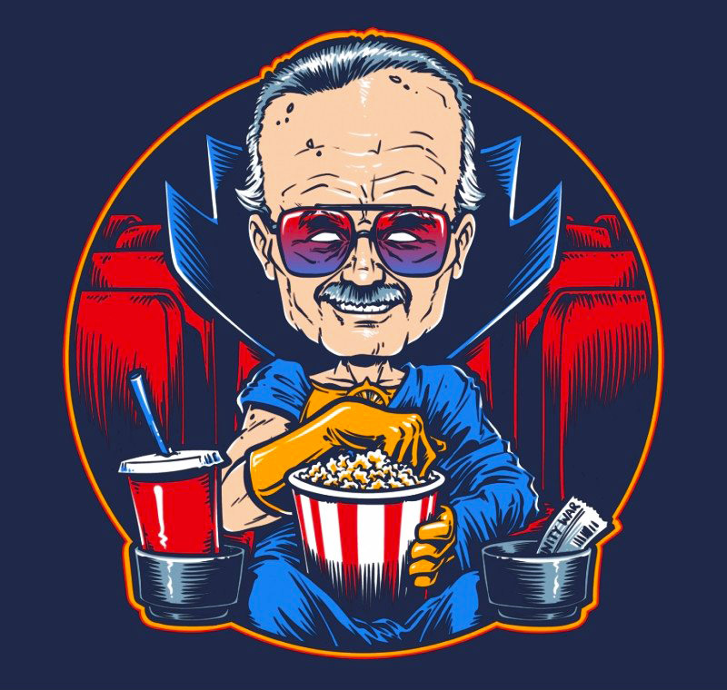 The Movie Watcher - T-Shirt