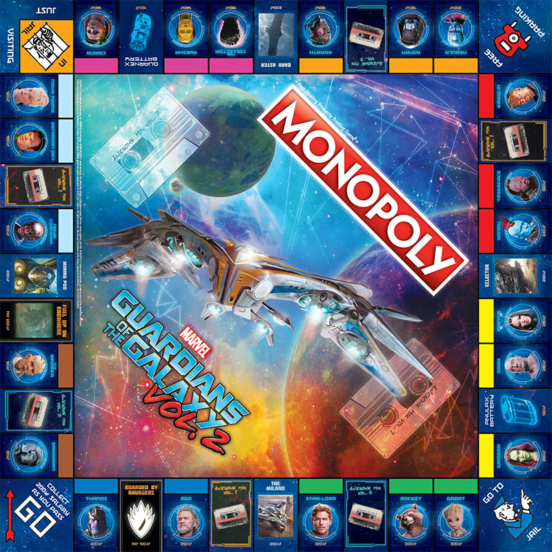 Monopoly - Guardians of the Galaxy Vol. 2 Edition