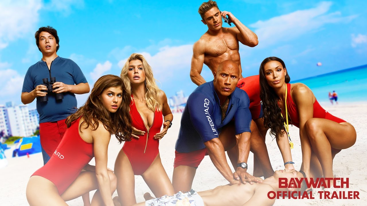 'Baywatch' - [ RED BAND TRAILER ]