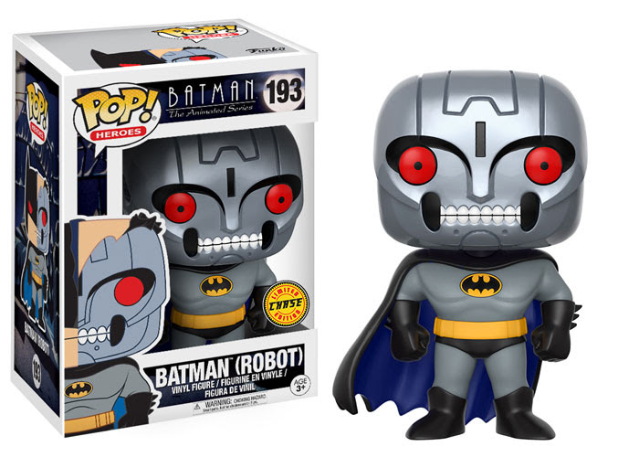Funko - Pop - BTAS - Batman Robot - Chase