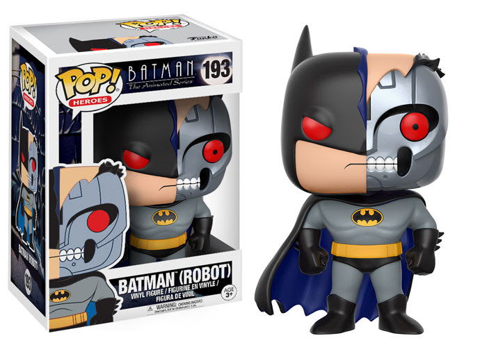 Funko - Pop - BTAS - Batman Robot