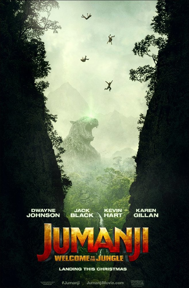 Jumanji - Welcome to the Jungle - Official Poster
