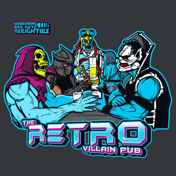 Retro Villain Pub T-Shirt