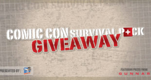 Comic Con Survival Pack Giveaway – 2017