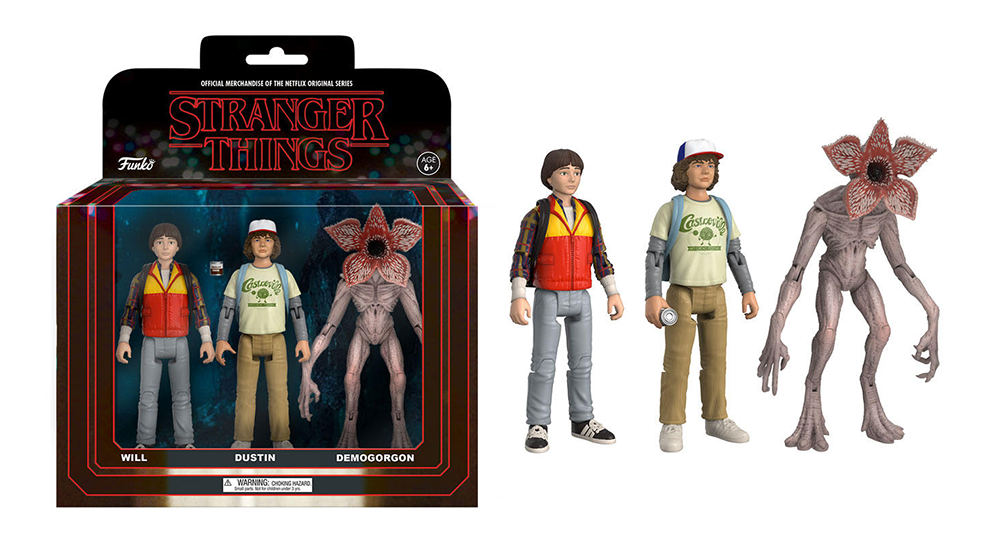 Stranger Things - Action Figures - Funko - 3-Pack