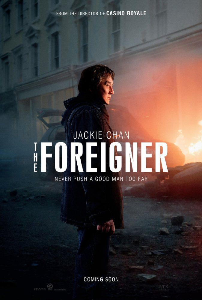 The Foreigner - Official Poster - Jackie Chan