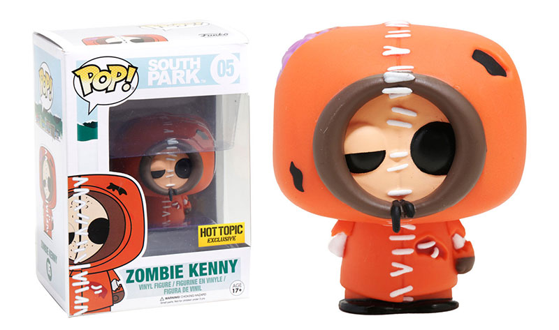 Zombie Kenny - Funko Pop! - Hot Topic - Exclusive